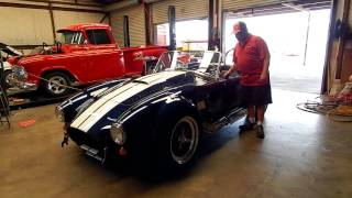 Download Backdraft Cobra With A Craft 427 From Lone Star Muscle Cars. Video