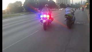 Download Motorcycle Police Chases Compilation #14 - POLICE CHASE GONE BAD - June 2017 - FNF Video