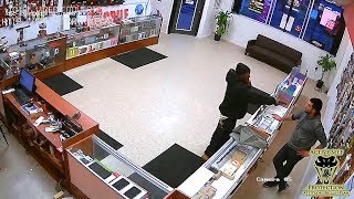 Download Store Owner Takes the Fight to Robber...Twice! | Active Self Protection Video