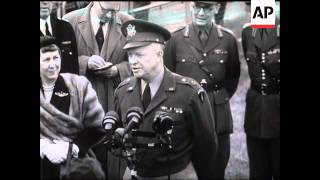 Download GENERAL EISENHOWER'S FAREWELL TO LONDON Video