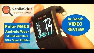 Download Polar M600 Video Review - Android Wear Smartwatch with GPS, Heart Rate and 24/7 Activity Tracker Video