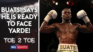 Download Joshua Buatsi says he is READY to face Yarde & talks about sparring George Groves! 🥊 | Toe 2 Toe Video