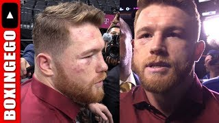 Download CANELO ALVAREZ IMMEDIATE REACTION EXPLAINS FIGHTING OFF THE ROPES W NOTORIOUS PUNCHER GGG GOLOVKIN Video