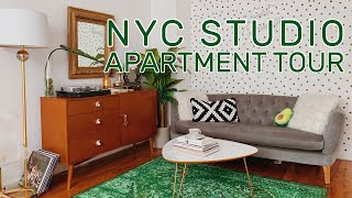 Download NYC Studio Apartment Tour + Decor Ideas | Upper East Side - 320 Square Ft Video