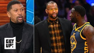 Download Jalen Rose expecting sparks between Draymond Green and DeMarcus Cousins | Get Up! Video