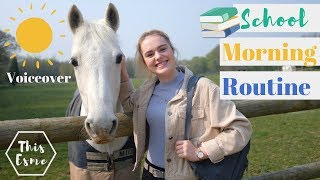 Download Voiceover School Morning Routine of an Equestrian | This Esme Video