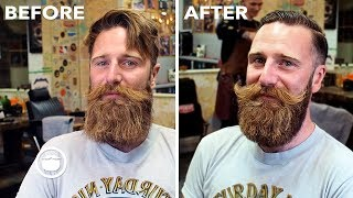 Download Enormous Viking Beard Trim Video