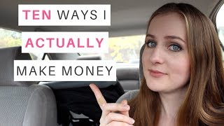 Download 10 Ways I Actually Make Money (Multiple Streams of Income & PASSIVE Income) // Gillian Perkins Video