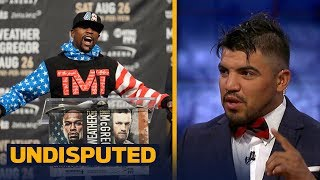 Download Victor Ortiz makes his prediction for the Mayweather vs McGregor mega-fight | UNDISPUTED Video