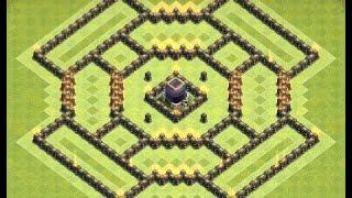 Download Th9 farming base + replays | Th9 dark elixir farming base | Diseño de aldea | Clash of clans Video