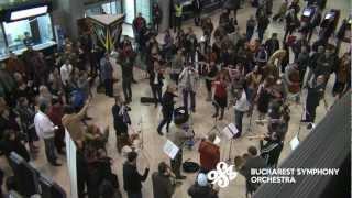 Download Flash Mob at Bucharest International Henri Coanda Airport by Bucharest Symphony Orchestra Video