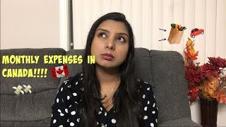 Download Monthly expenses in Canada | Canada couple| Real talk Video
