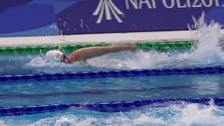Download Kennedy Goss finishes Universiade 2019 meet with a 5th in the 400m free Video