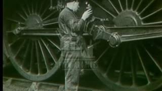 Download London To Edinburgh By Rail, 1940s - Film 13040 Video