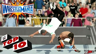 Download WWE 2K17 - Wrestlemania 33 Top 10 Moments!!! Video