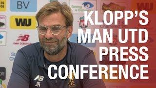 Download Jürgen Klopp's pre-Manchester United press conference | Mane, Lovren, Dalglish Video
