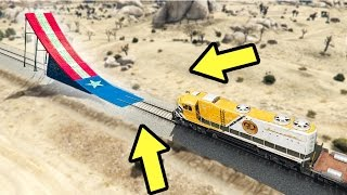 Download WHAT HAPPENS WHEN A RAMP IS IN FRONT OF A TRAIN IN GTA 5? Video