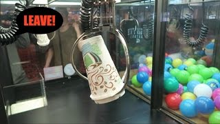 Download KICKED OUT OF ARCADE FOR CLEANING OUT AN ENTIRE CLAW MACHINE! Video