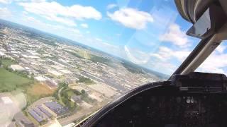 Download Learjet 35A Landing Teterboro NJ Video