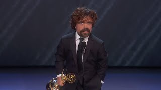 Download 70th Emmy Awards: Peter Dinklage Wins For Outstanding Supporting Actor In A Drama Series Video