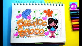 Download IDEA HERMOSA PARA DIBUJAR SEGUNDO PERIODO - Cómo dibujar portada de Segundo Periodo - Yaye Video