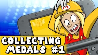 Download Super Mario Maker 3DS: LET'S GET MEDALS! (World 1 All Medals) Video