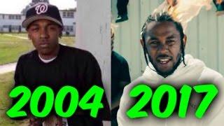 Download The Evolution of Kendrick Lamar (2004-2017) Video