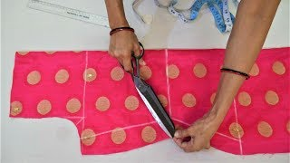 Download Suit/Kameez Cutting Very Easy Method Step By Step Video