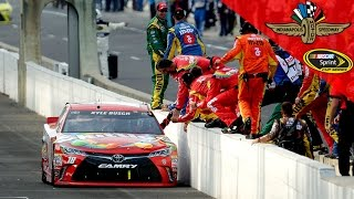 Download Busch goes back-to-back at the Brickyard Video
