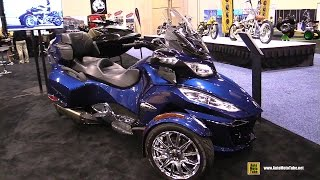 Download 2016 Can am Spyder RT Limited - Walkaround - 2015 AIMExpo Orlando Video