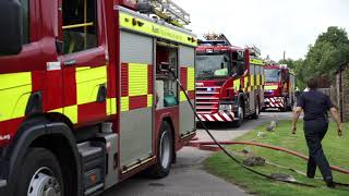 Download Tudeley house fire Video