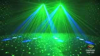 Download American DJ Galaxian Gem LED Moonflower / Laser DMX Disco Light @ AstoundedDotCom Video