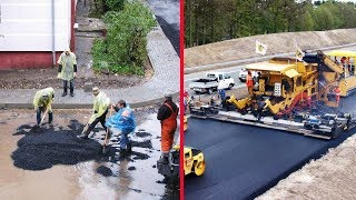 Download Modern Road Construction: Russia vs Germany Video