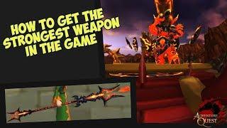 AQ3D Fidget Spinner WEAPON! AdventureQuest 3D Free Download Video
