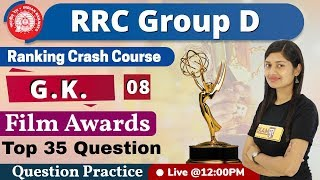Download Class- 08|| RRC Group D || G.K.|| by Sonam ma'am ||Top 35 Questions related to Film awards Video
