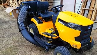 Download Cub Cadet Bagger [UNBOXING and FIRST USE] Video