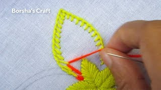 Download Hand Embroidery, Easy Flower Embroidery, Whipped spiderweb Stitch Video