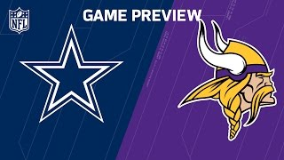 Download Cowboys vs. Vikings (Week 13 Preview) | Around the NFL Podcast | NFL Video
