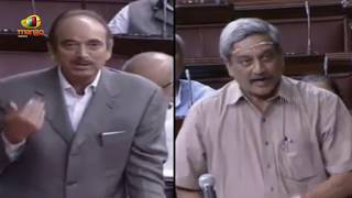Download Congress Ghulam Nabi Azad Vs Manohar Parrikar over Pakistan ceasefire violations Video