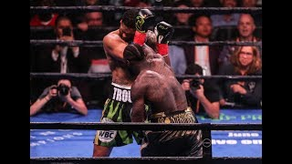Download Deontay Wilder Vicious First Round Knock Out vs. Dominic Breazeale Video