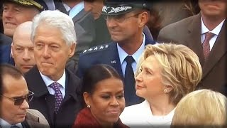 Download DAMN! WATCH HILLARY CATCH BILL UNDRESSING IVANKA TRUMP AT THE INAUGURATION WITH HIS EYES Video