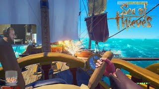 Download Epic Pirate Ship Battle! #1 Ranked Captain! Sea Of Thieves! Video