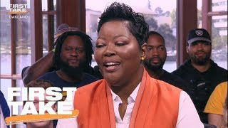 Download Kevin Durant's Mom Has Some Words For Stephen A. Smith   First Take   June 4, 2017 Video