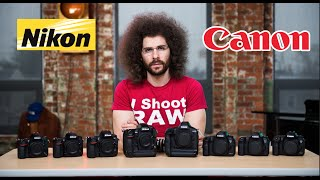 Download Nikon VS Canon Which To Buy: The ULTIMATE Battle Video