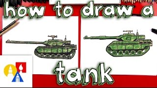 Download How To Draw A Realistic Tank Video