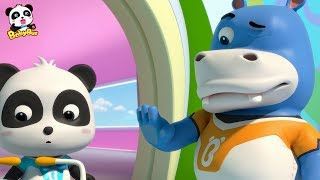 Download What is Hank Looking at? | Rescue Baby Panda | Super Panda Rescue Team | BabyBus Video