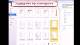 Download Kako napraviti CV (radnu biografiju) u Wordu (Word 2010) Video