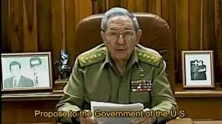 Download Raúl Castro´s 2014/12/17 speech in full with english subtitles Video