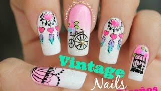 Download Decoración de uñas vintage 4 Diseños - Vintage nail art Video