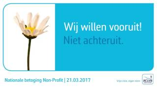 Download Betoging non-profit 21/03/2017 Video